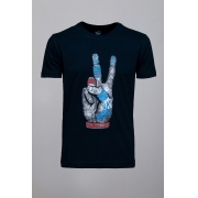 Camiseta CoolWave UK-London Preta