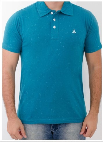 Camisa Barrocco Pólo Azul Royal
