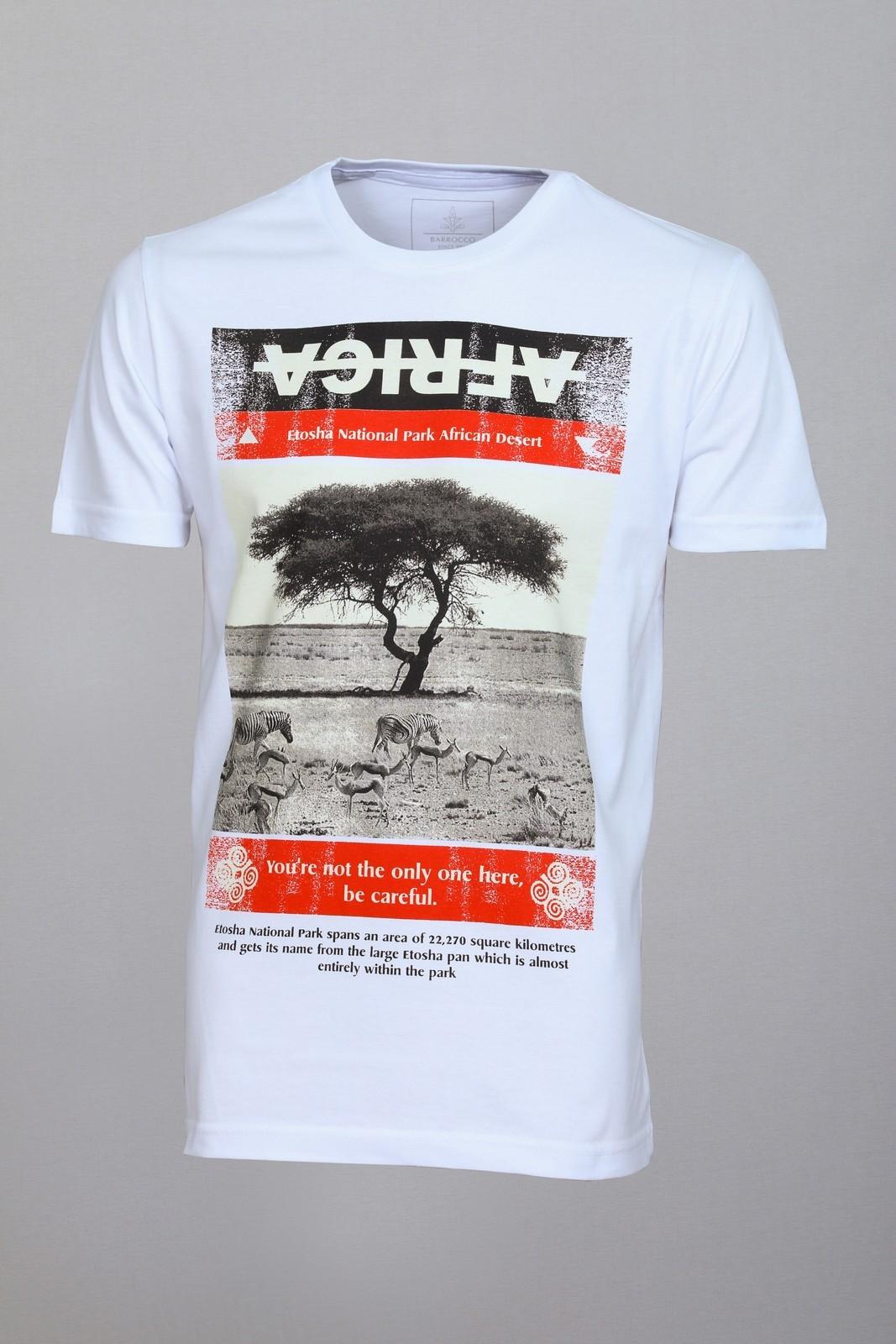 Camiseta Barrocco África Branca
