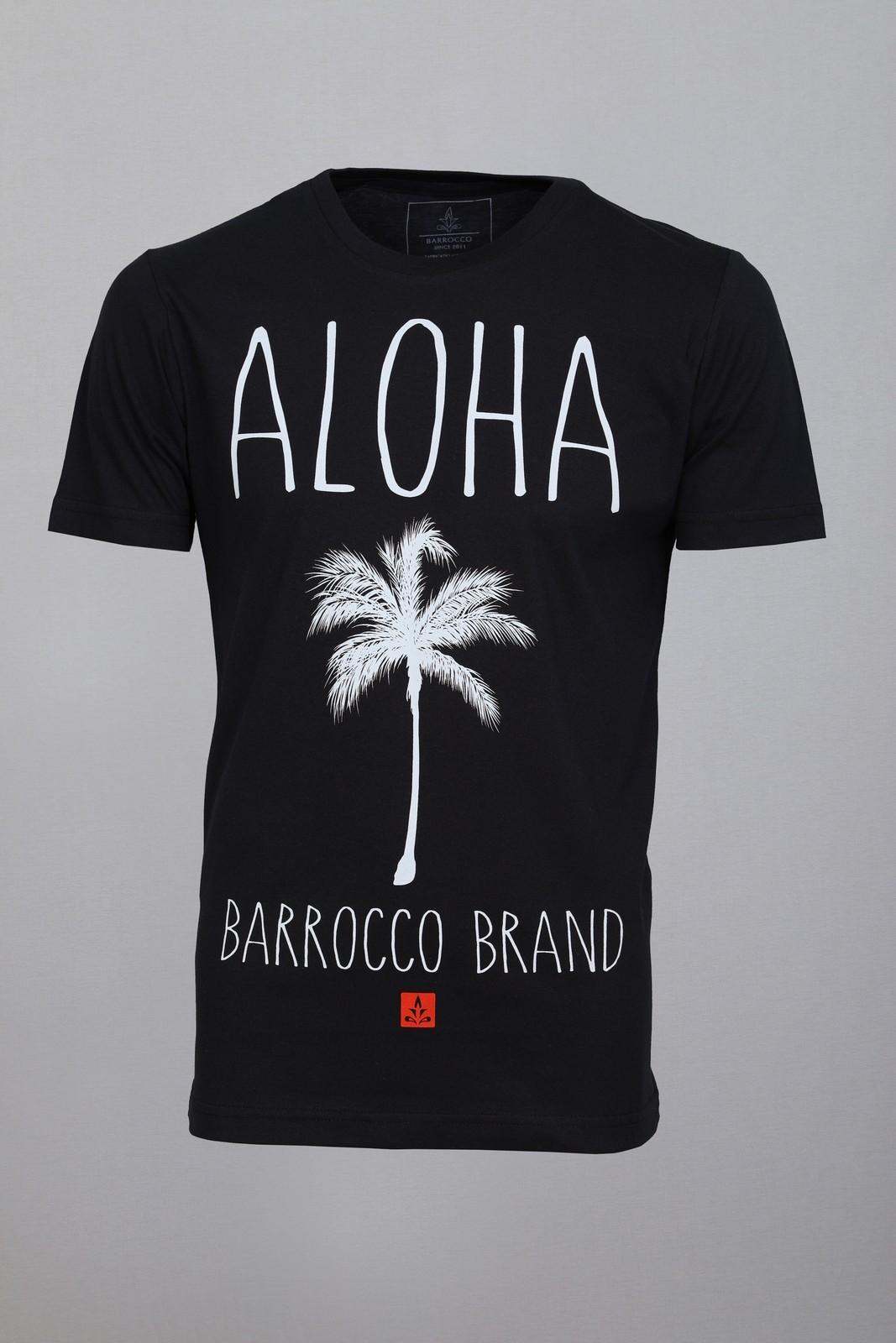 Camiseta Barrocco Aloha Preta