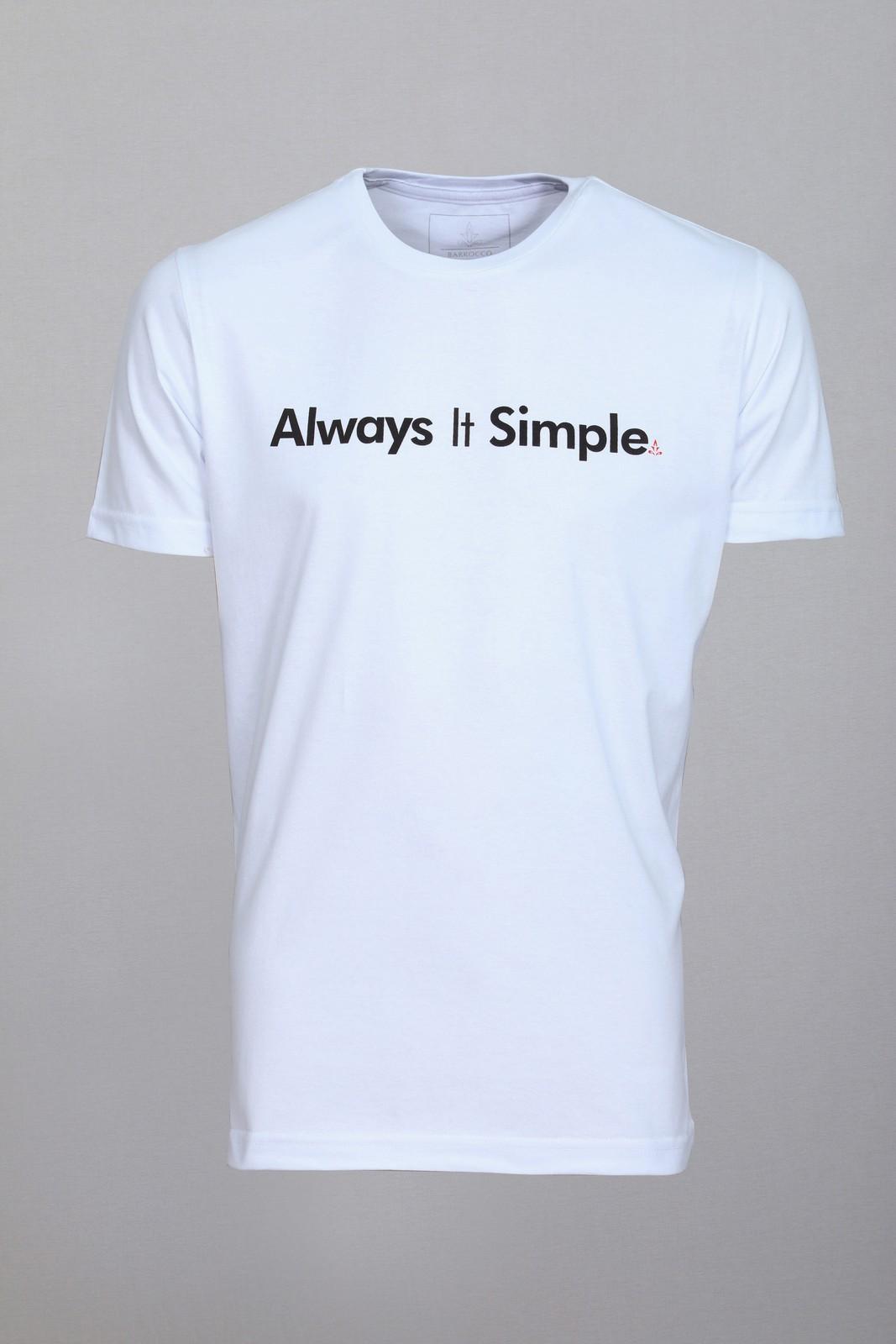 Camiseta Barrocco Always It Simple