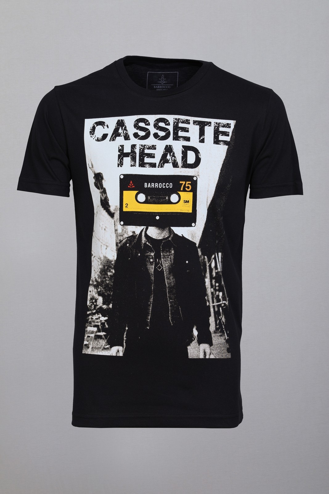 Camiseta Barrocco Cassete Head Preta