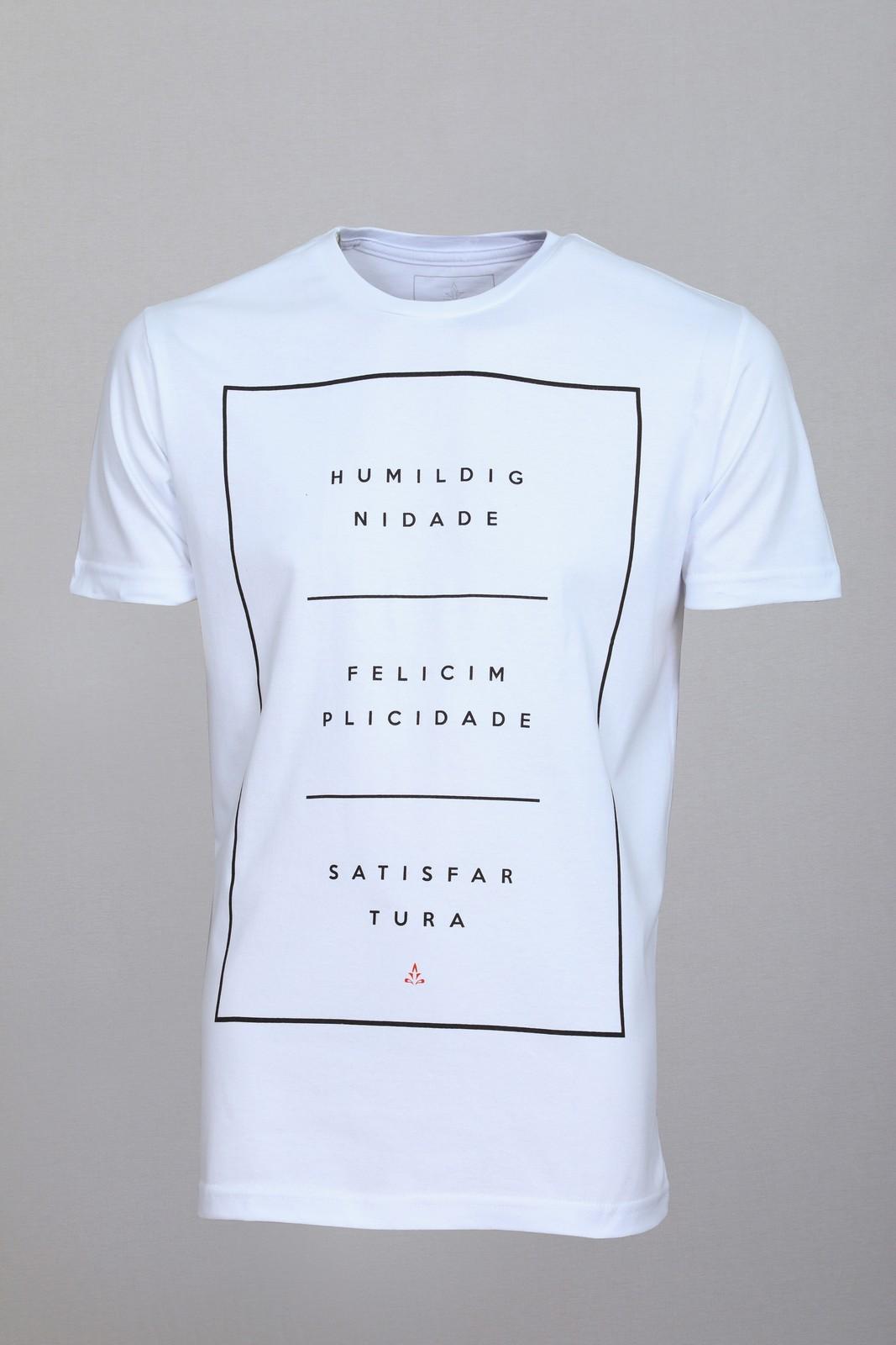 Camiseta Barrocco Equilíbrio Branca