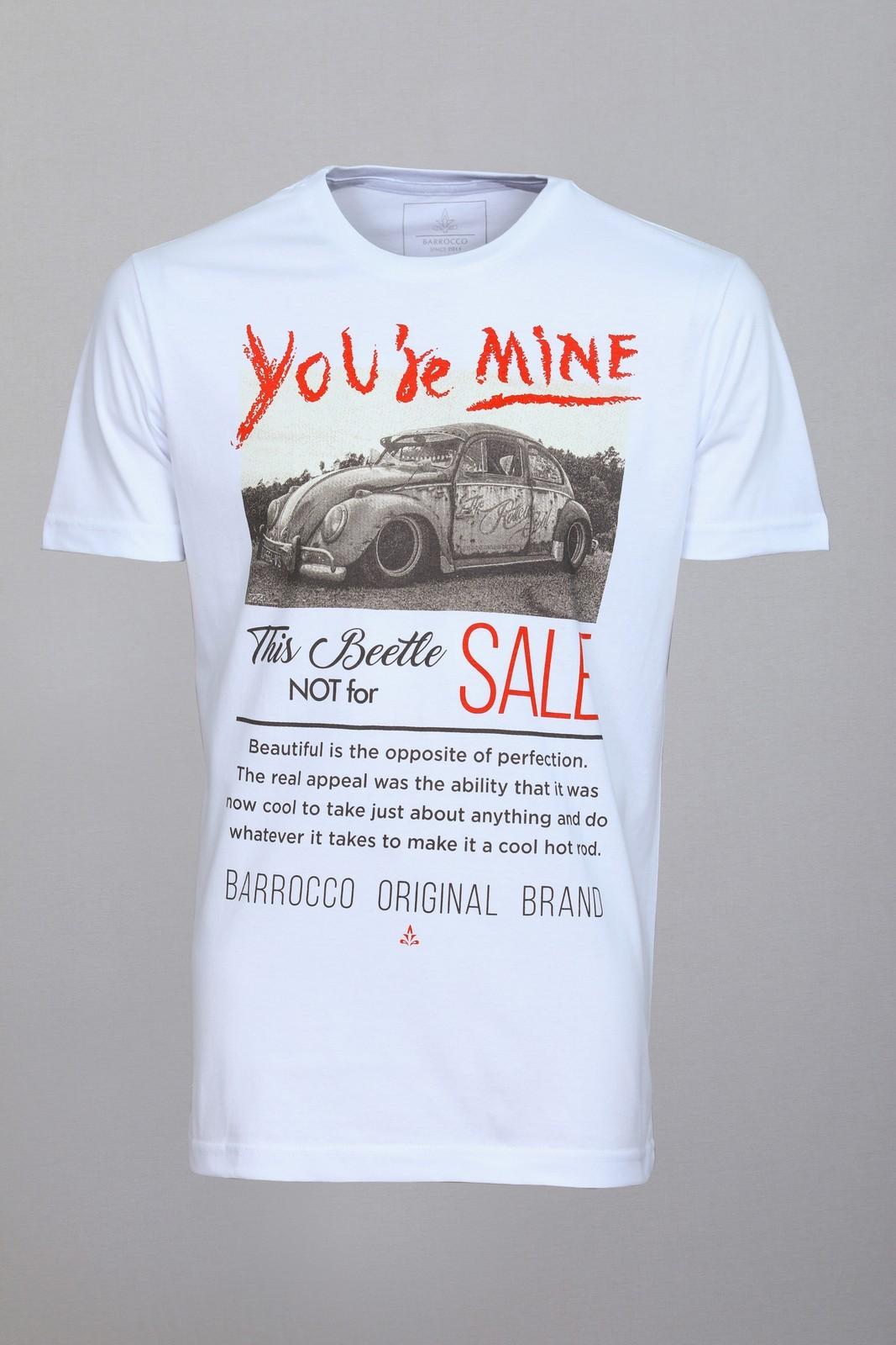 Camiseta Barrocco Fusca Branca