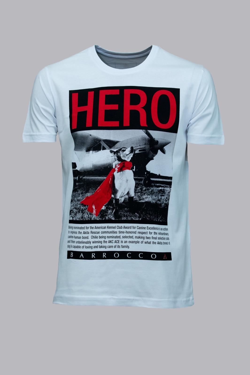Camiseta Barrocco Hero
