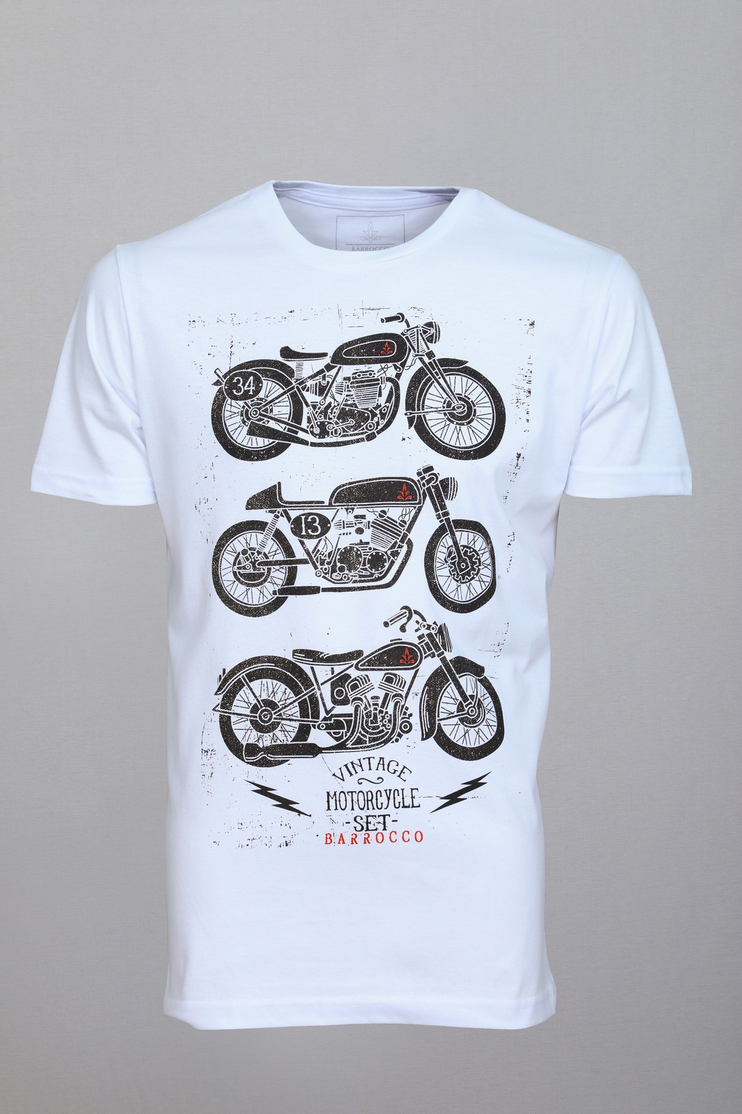 Camiseta Barrocco Motos