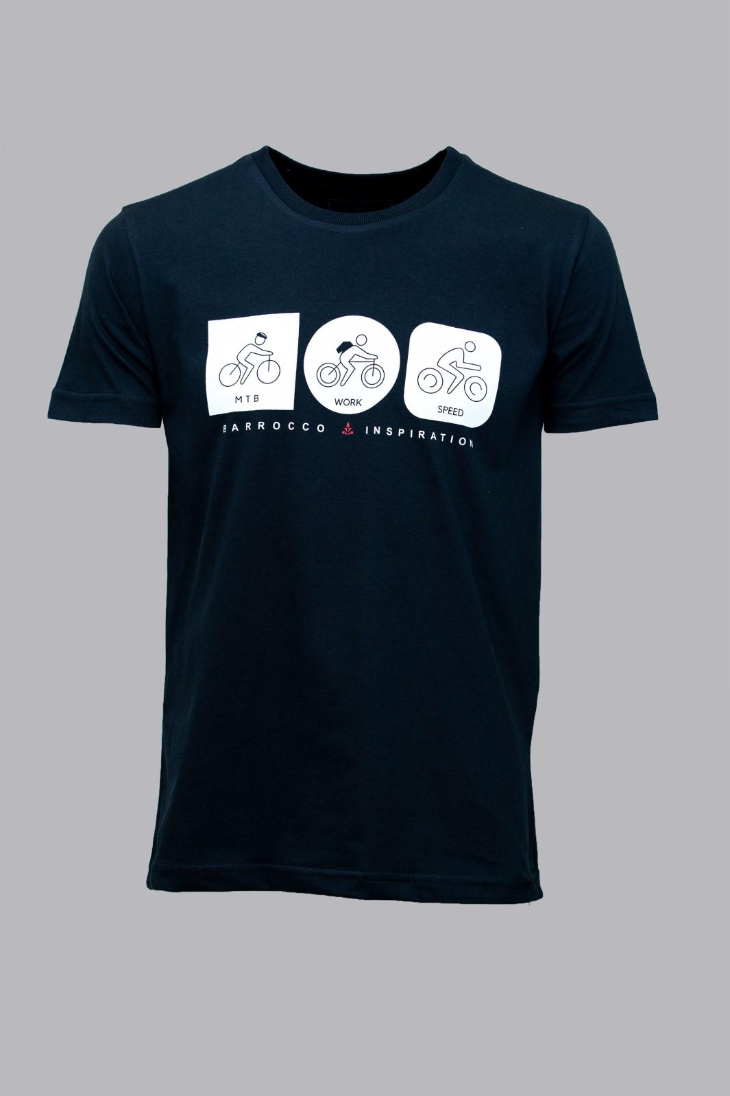 Camiseta Barrocco MTB, Work and Speed