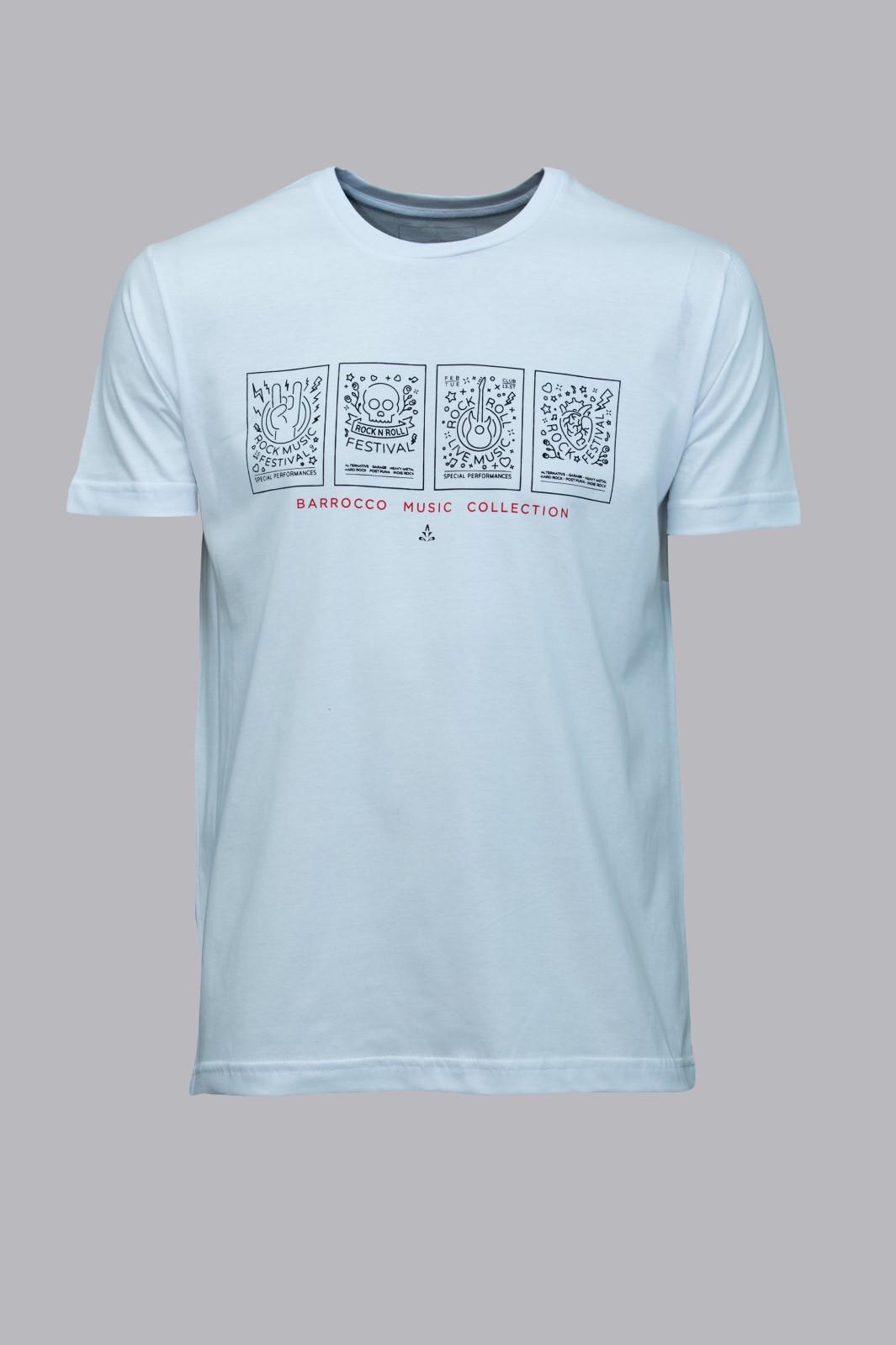 Camiseta Barrocco Music Collection