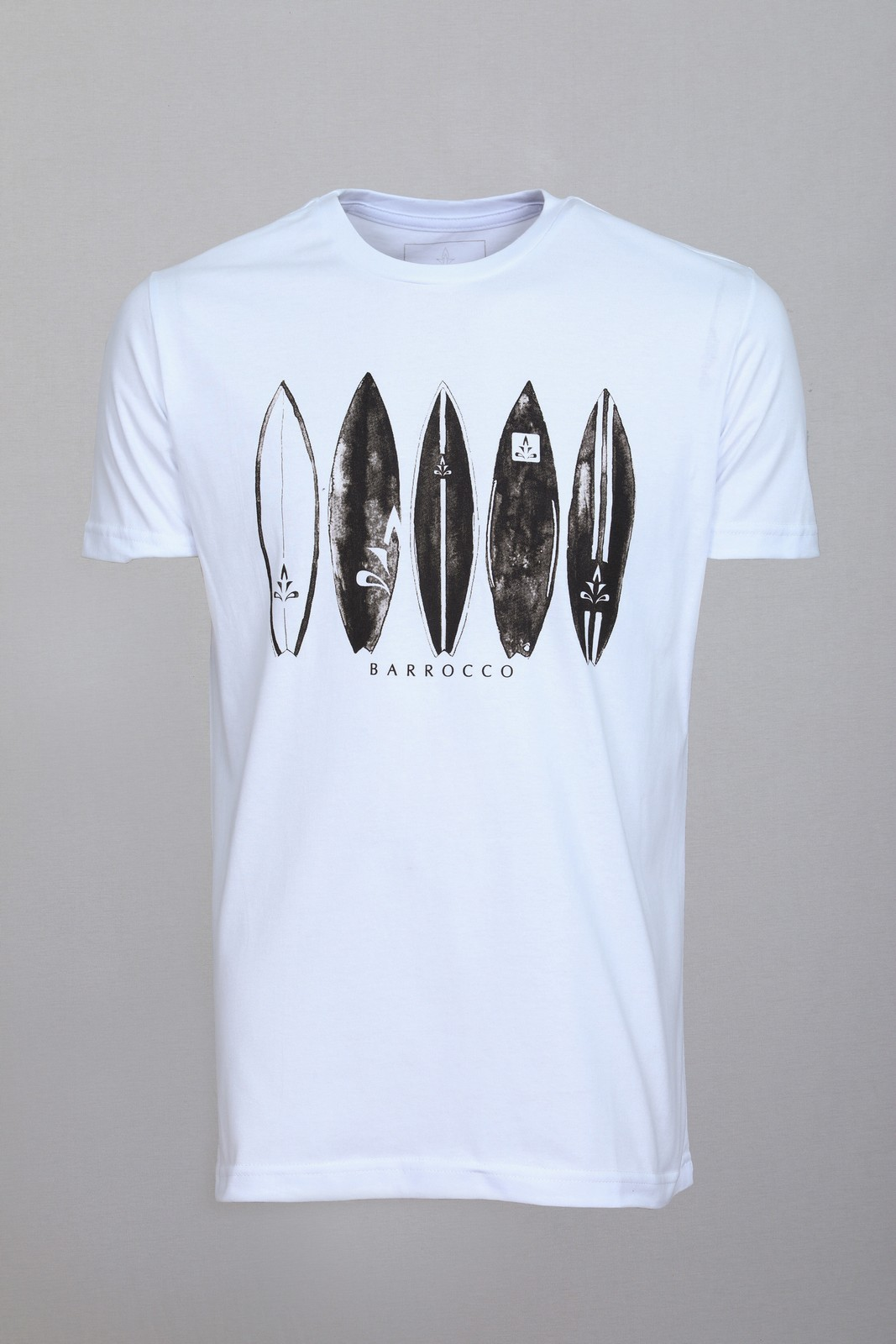 Camiseta Barrocco Papa He'e Nalu Branca