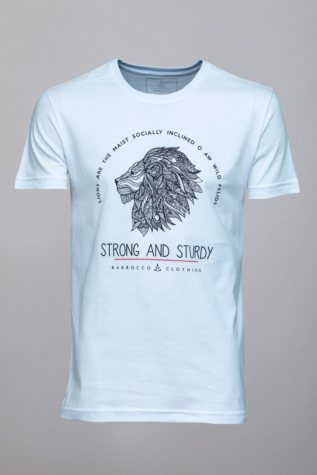 Camiseta Barrocco Strong and Sturdy