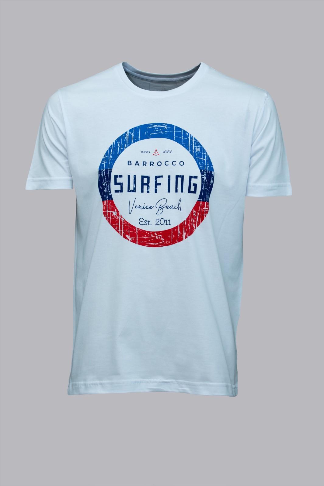 Camiseta Barrocco Surfing