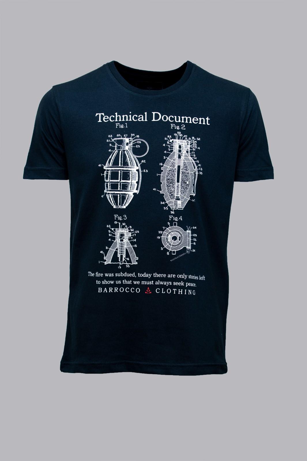 Camiseta Barrocco Technical Document