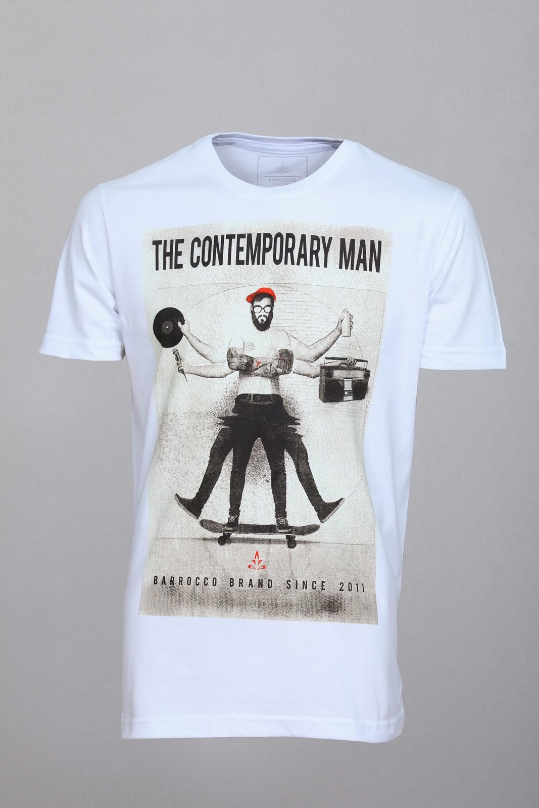Camiseta Barrocco The Contemporary Man