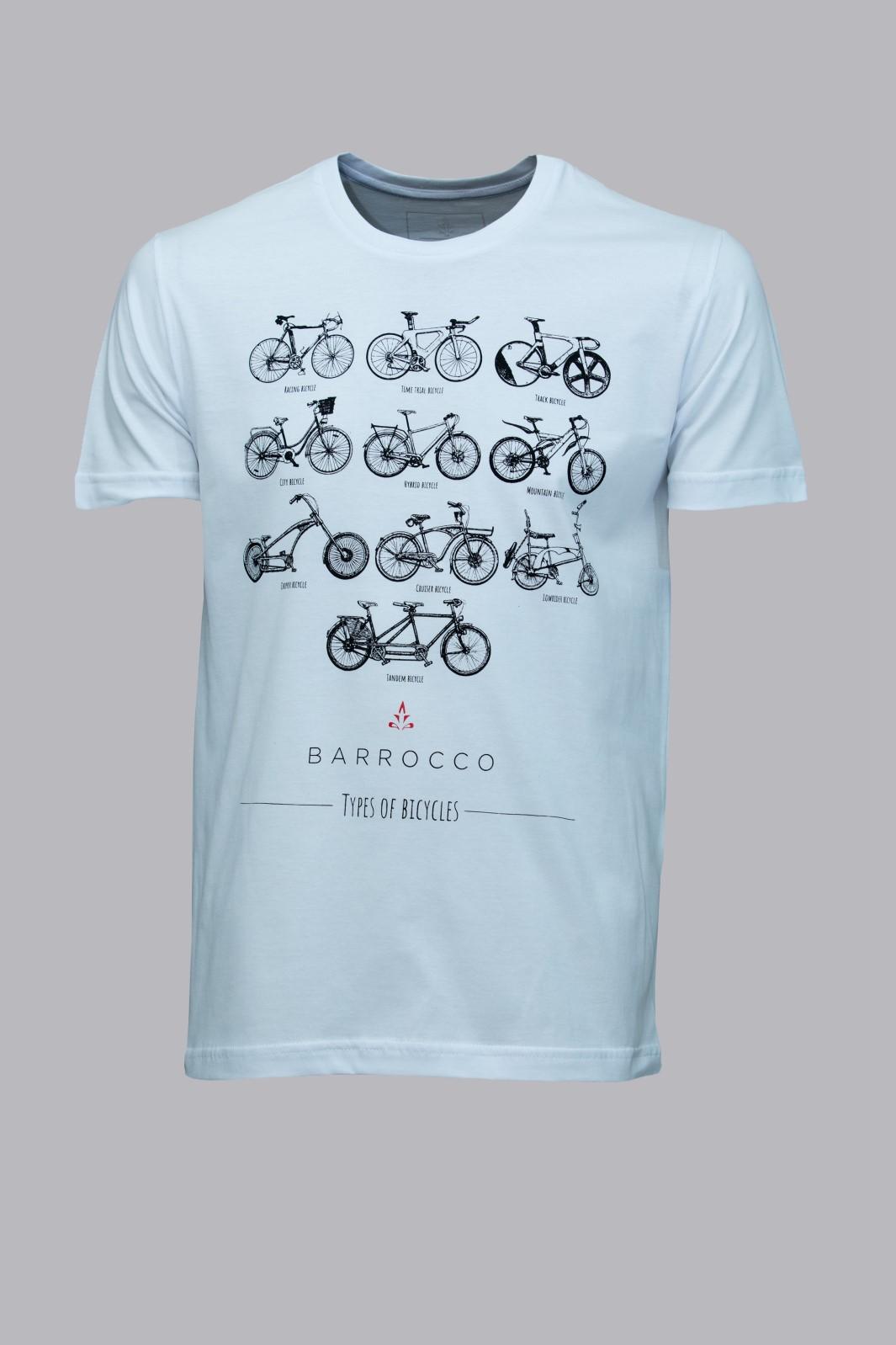 Camiseta Barrocco Types of Bicycle
