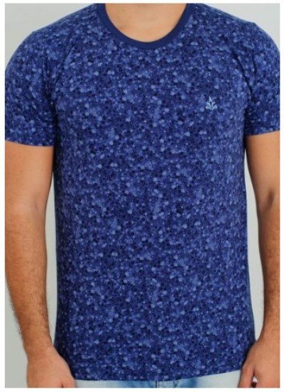 Camiseta Barrocco Universo Azul