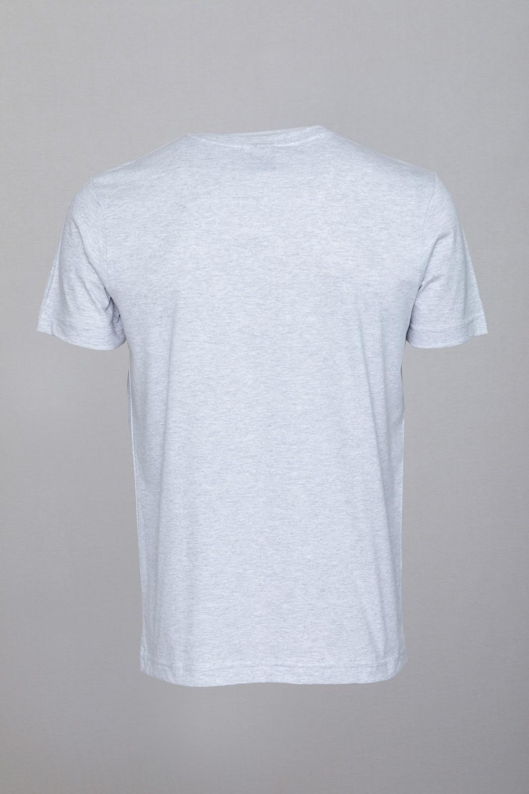 Camiseta CoolWave Básica Mescla Cinza
