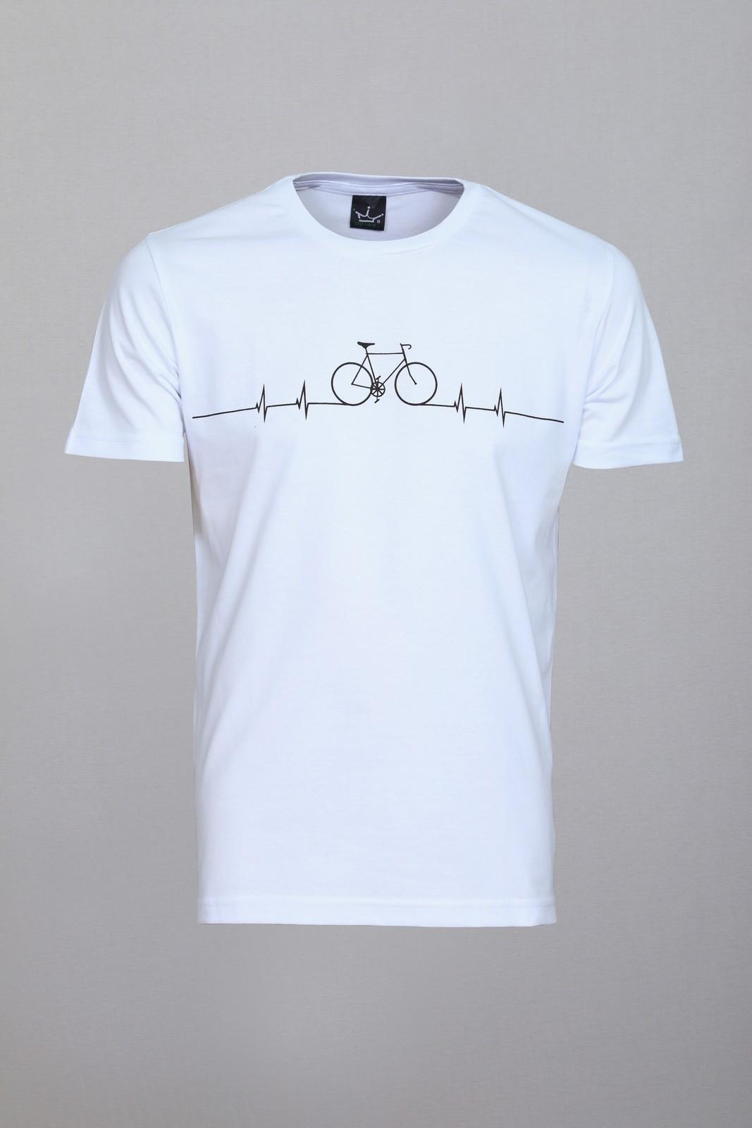 Camiseta CoolWave Bicycle Lines Branca