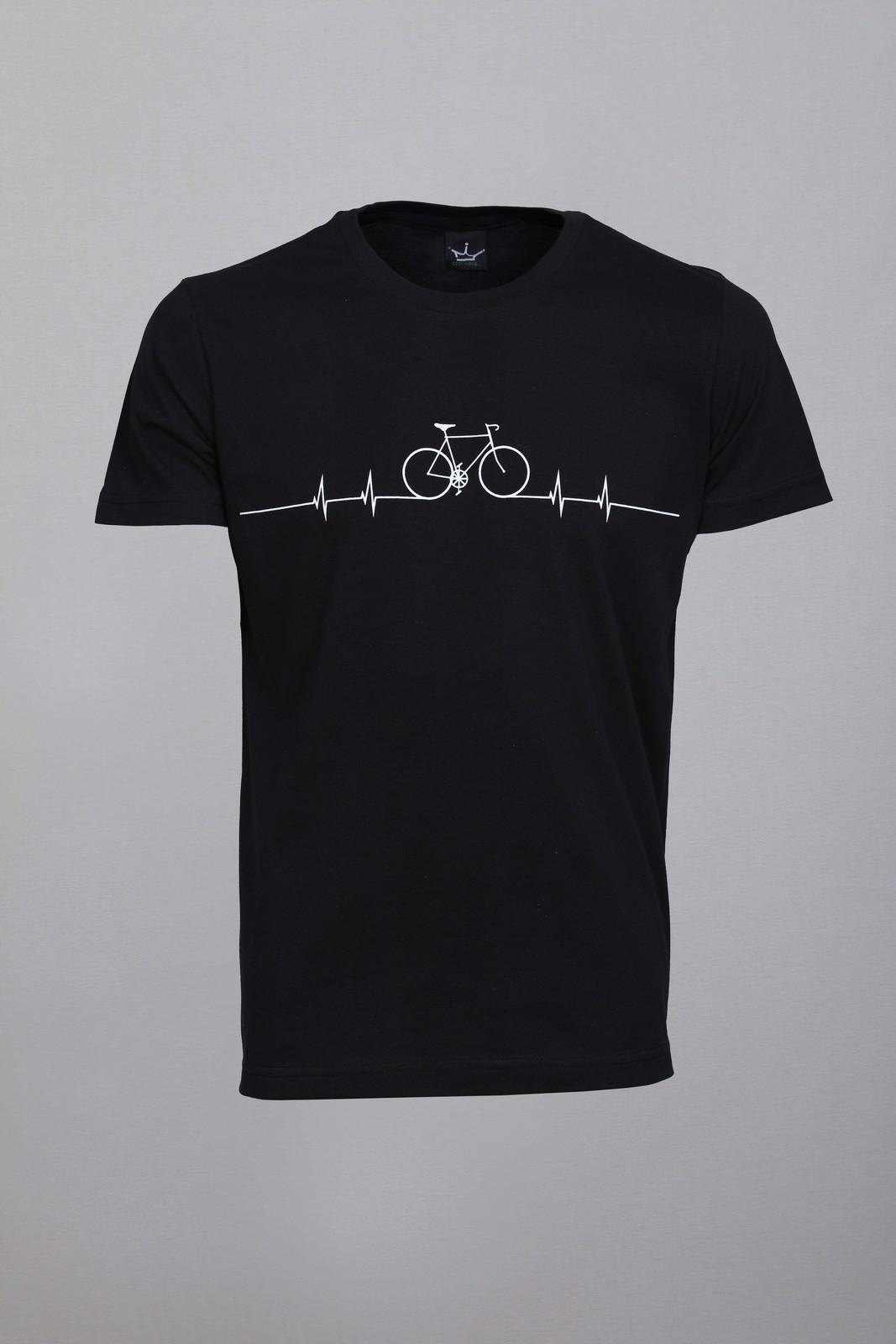 Camiseta CoolWave Bicycle Lines Preta