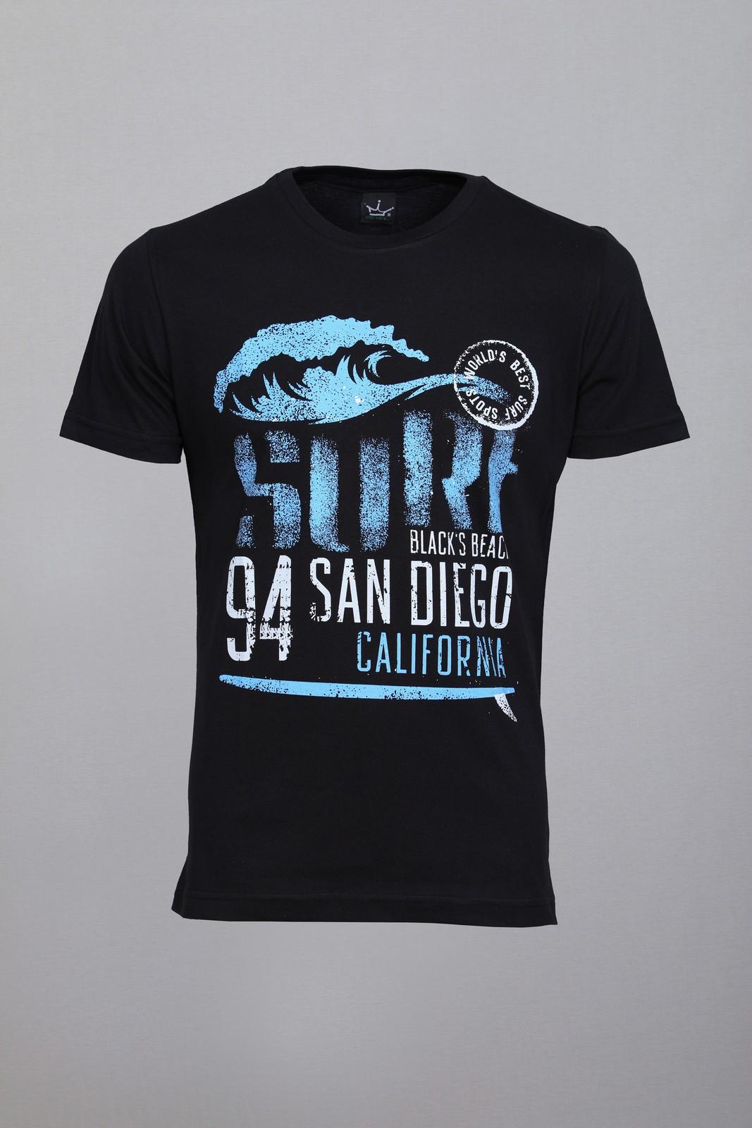 Camiseta CoolWave Black´s Beach.CA