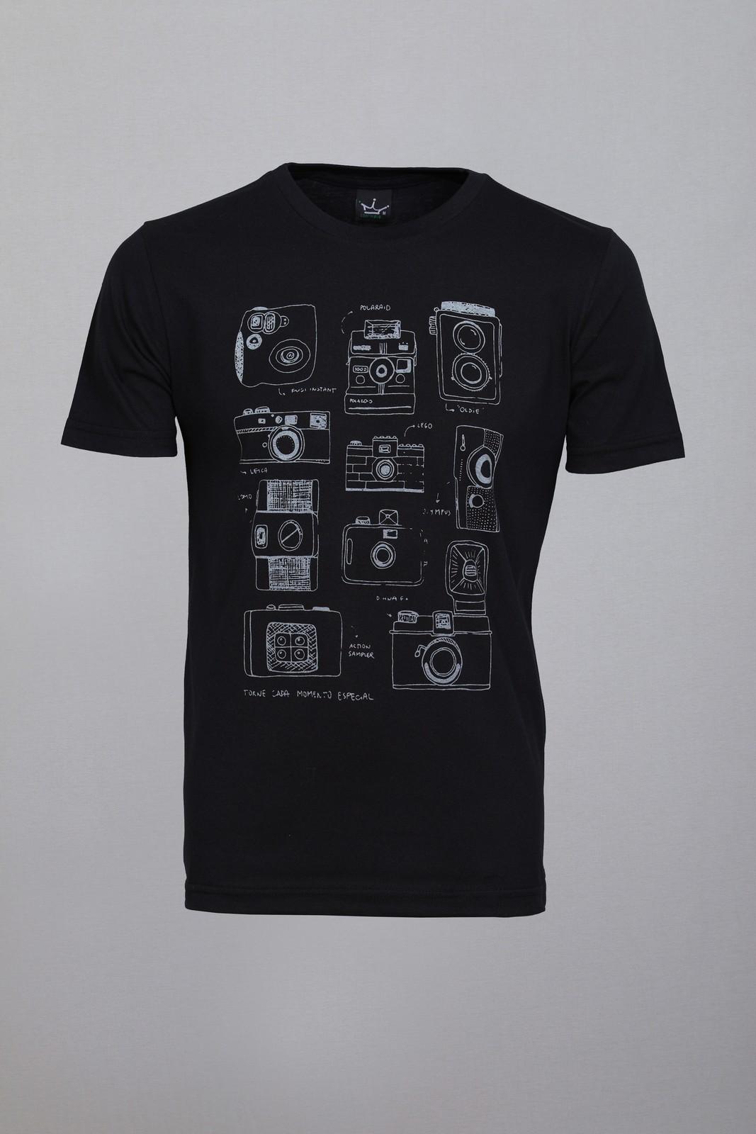 Camiseta CoolWave Câmeras Preta