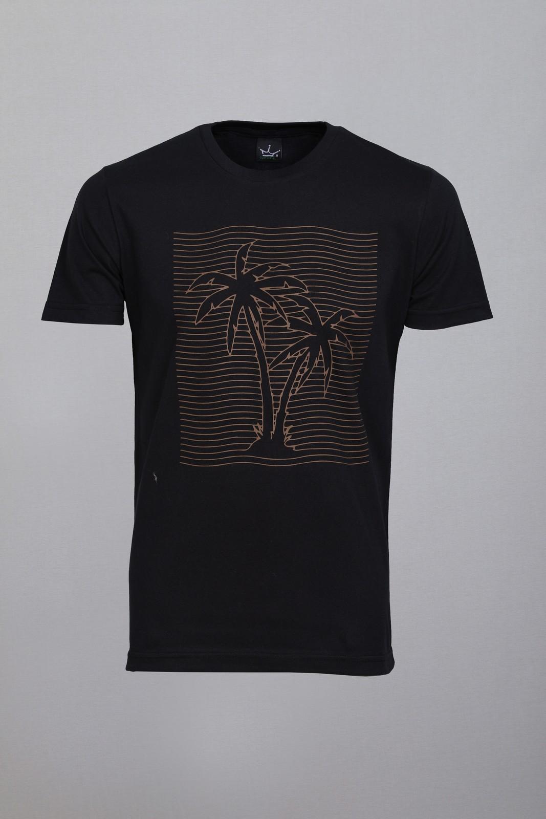 Camiseta CoolWave Coqueiro Preta