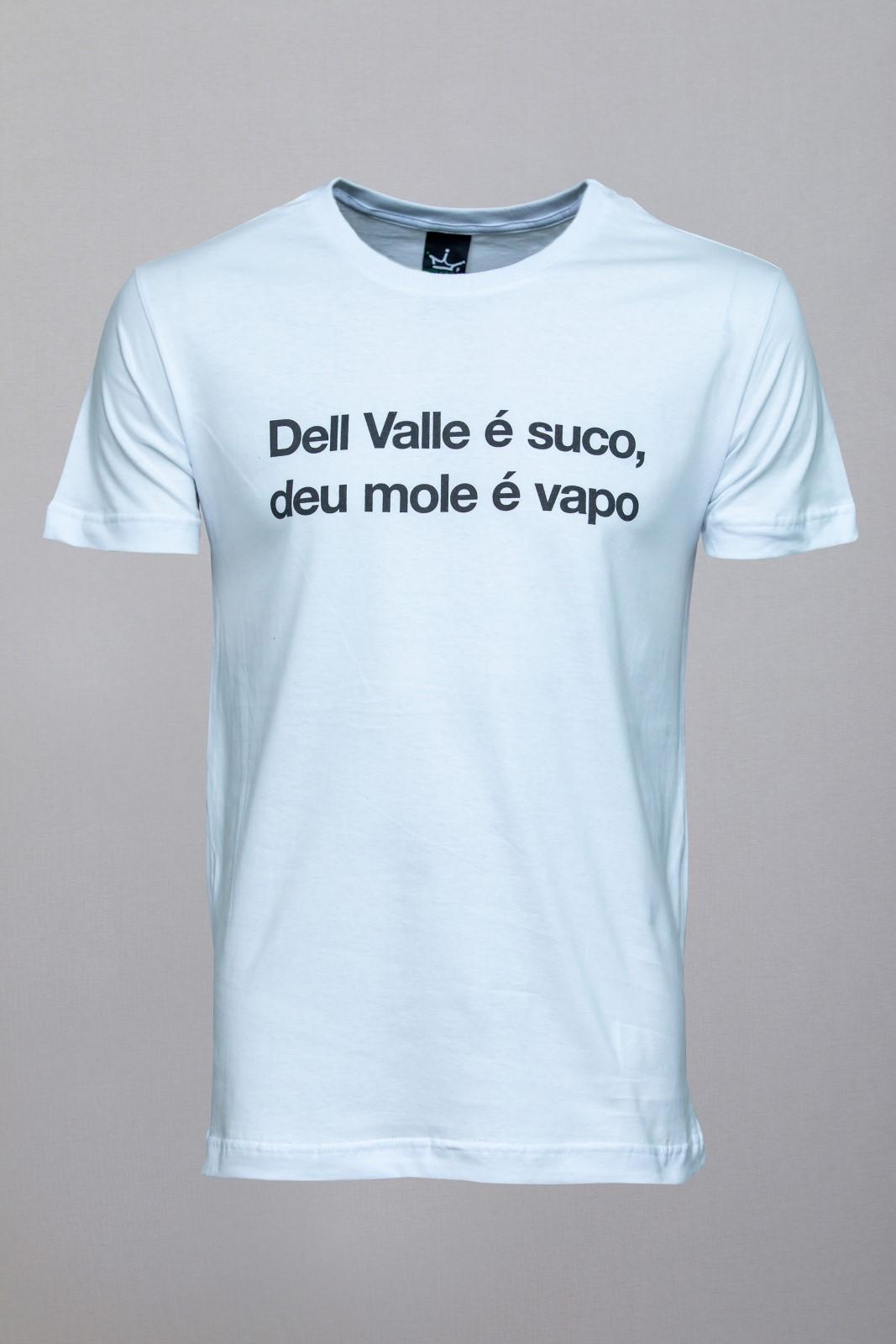 Camiseta CoolWave Dell Vale-Deu Mole Branca