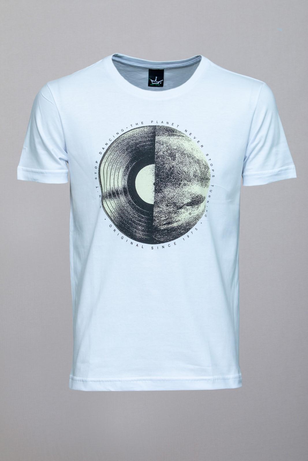 Camiseta CoolWave Don't Stop Dancing Branca