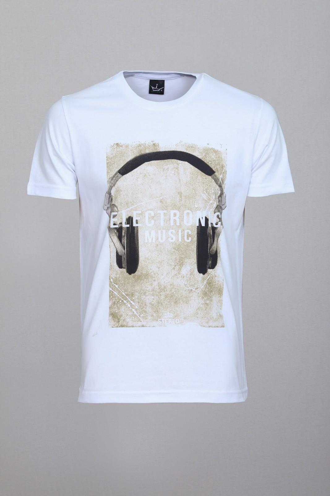 Camiseta CoolWave Electronic Music Branca