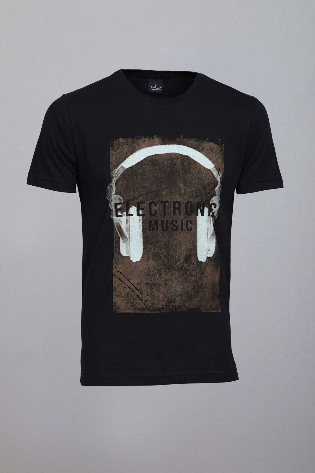 Camiseta CoolWave Electronic Music Preta