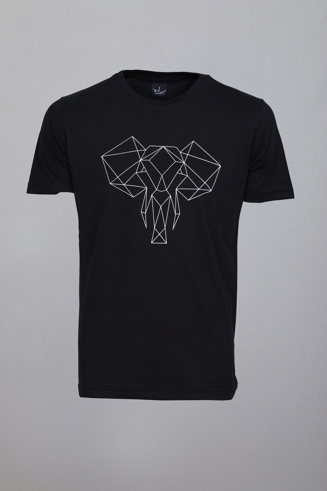 Camiseta CoolWave Elefante Preta
