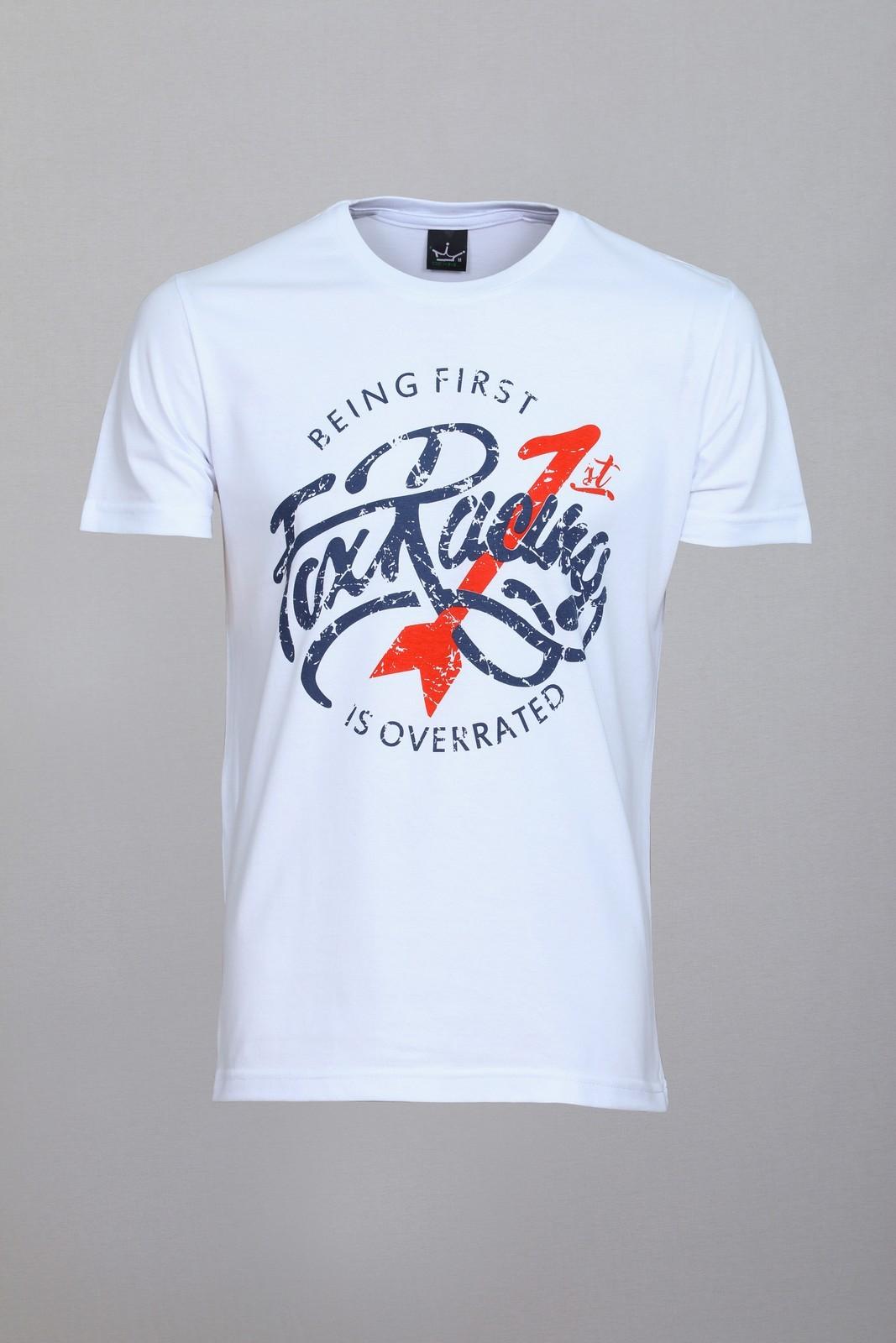 Camiseta CoolWave Fox Racin Branca