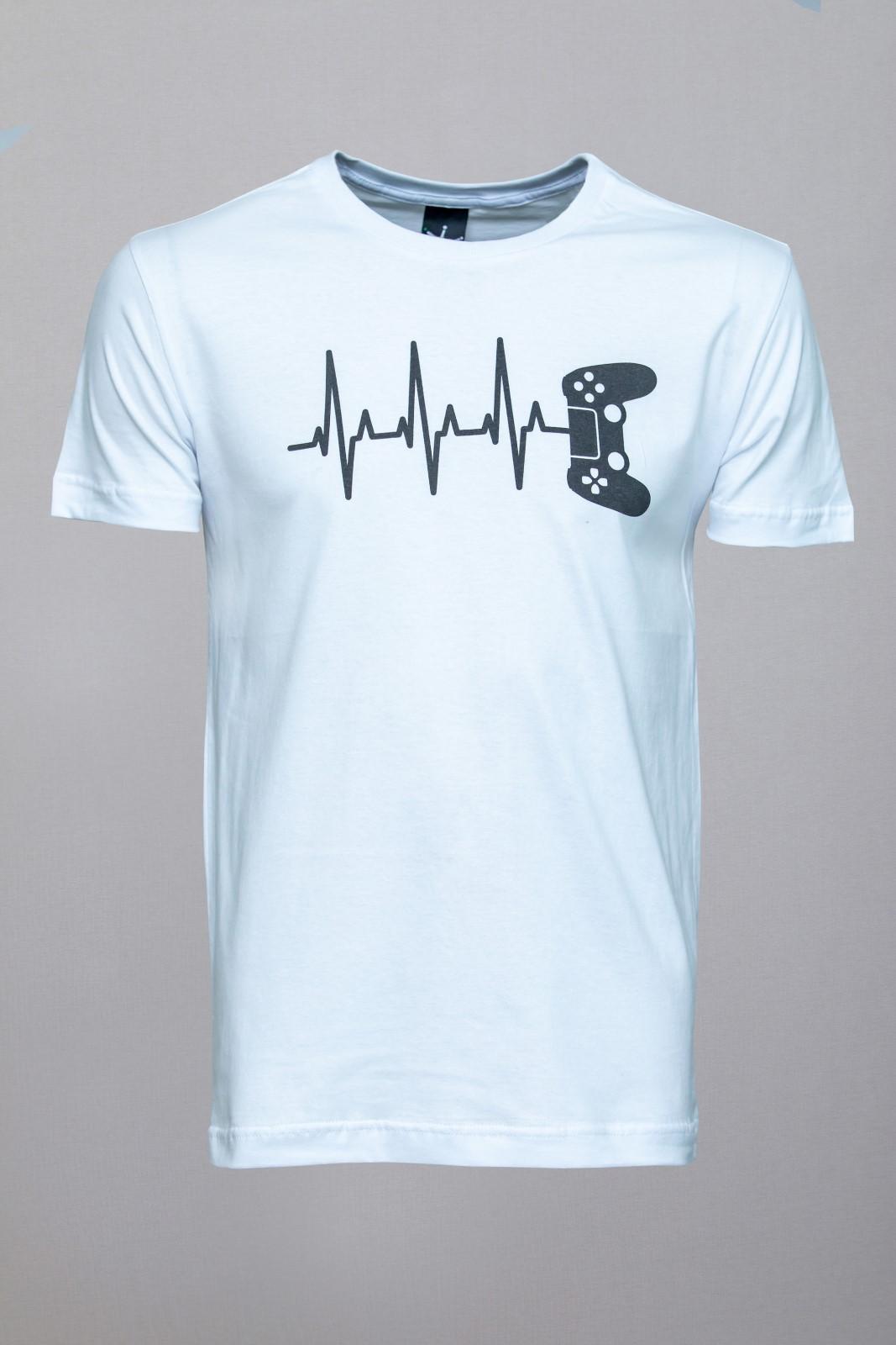 Camiseta CoolWave Games Lines Branca