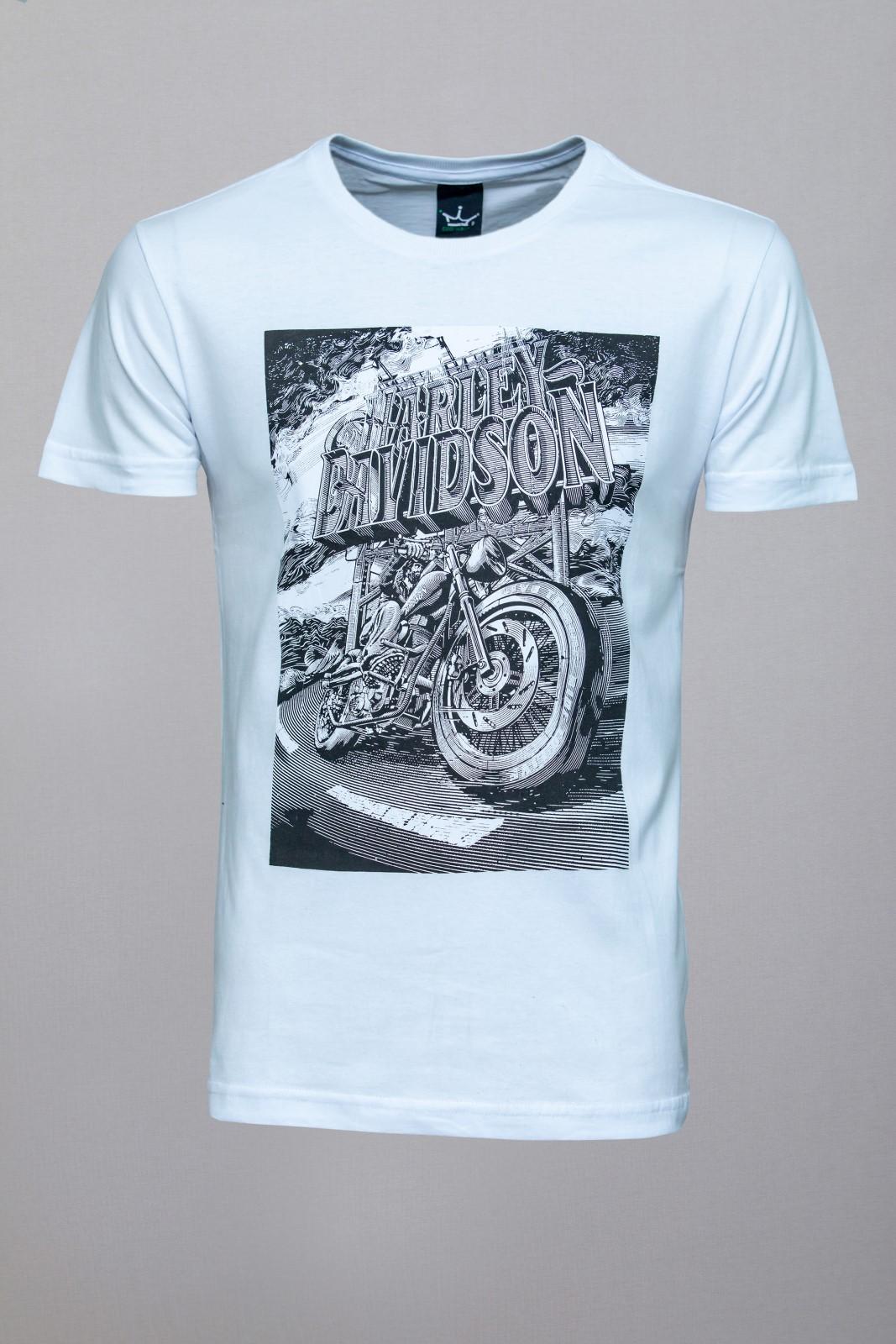 Camiseta CoolWave Harley Davidson Branca