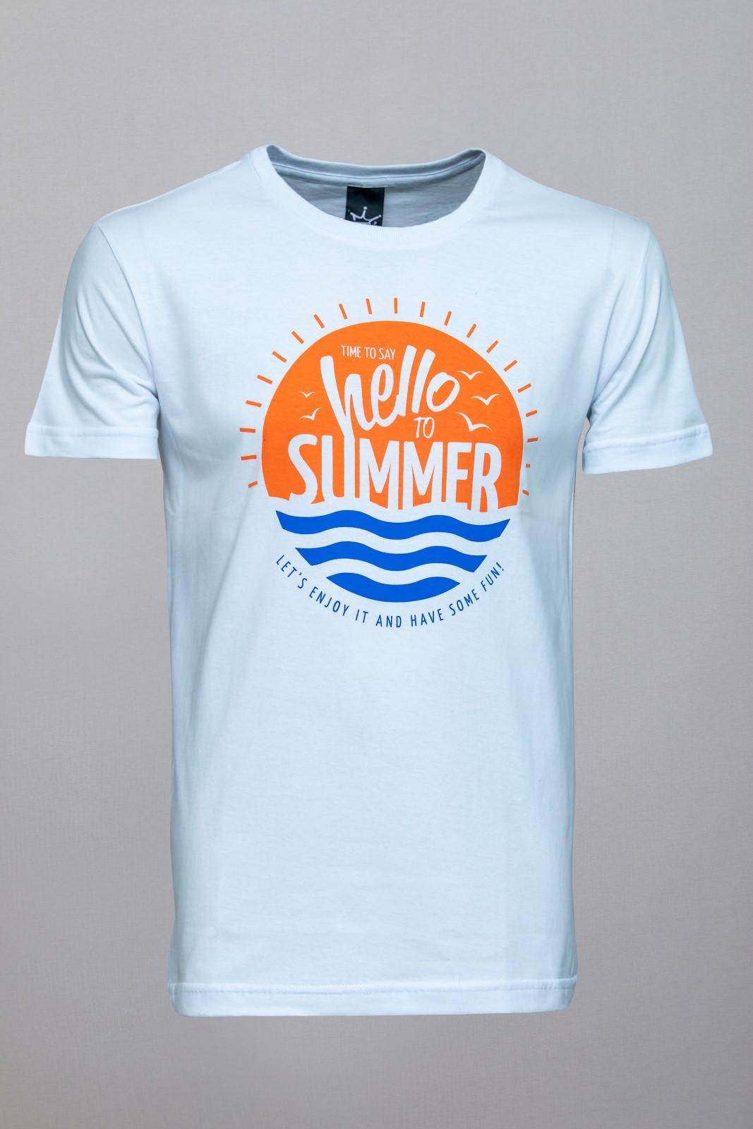 Camiseta CoolWave Hello to Summer Branca