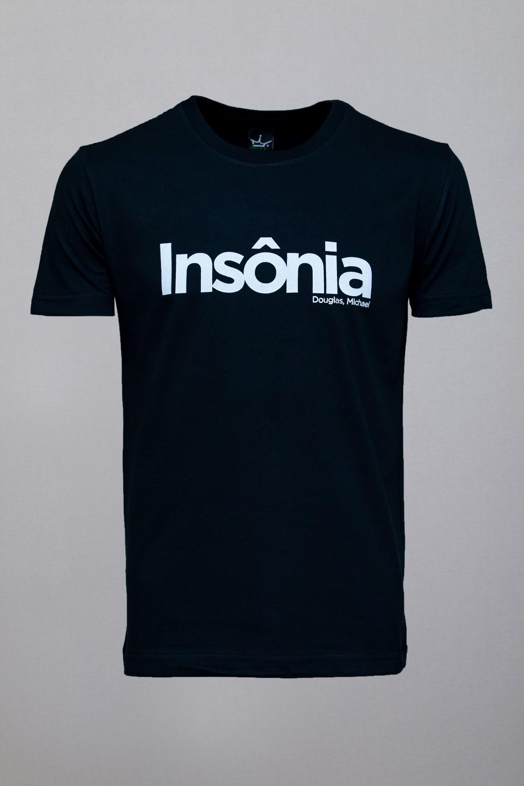Camiseta CoolWave Insônia Preta