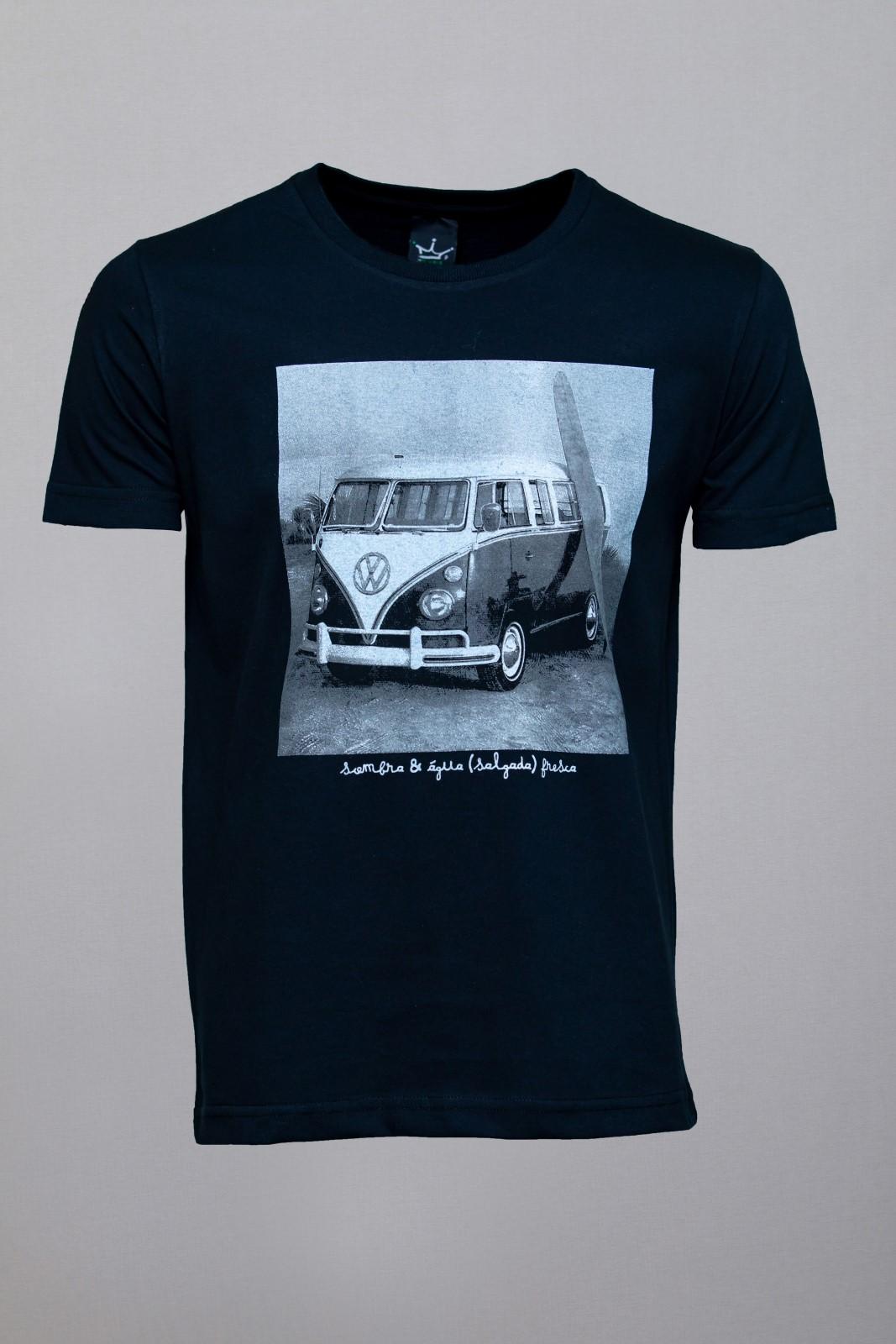 Camiseta CoolWave Kombi Preta