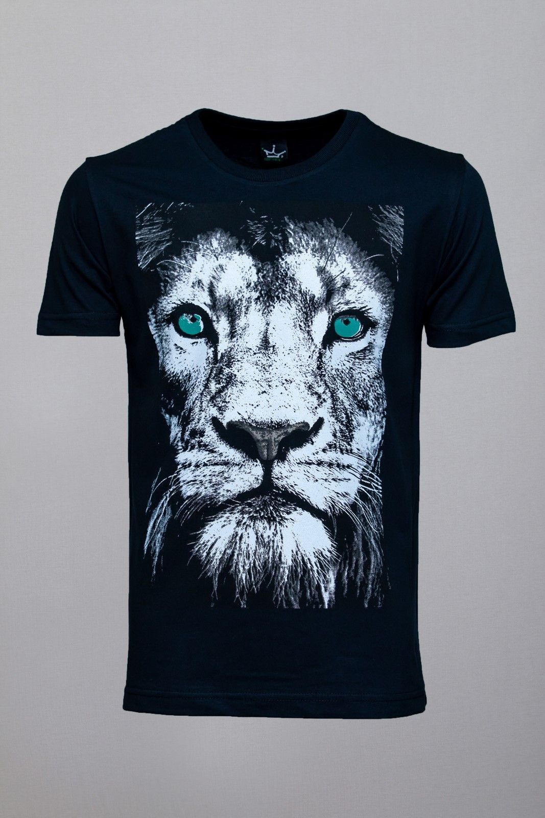 Camiseta CoolWave Lion Face Preta