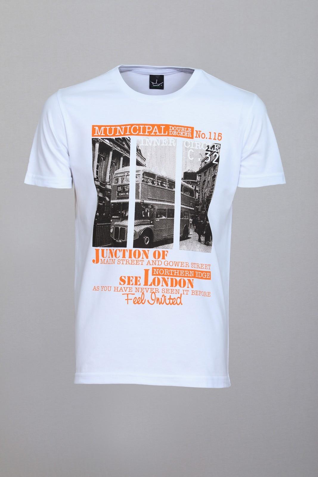 Camiseta CoolWave London Bus Branca
