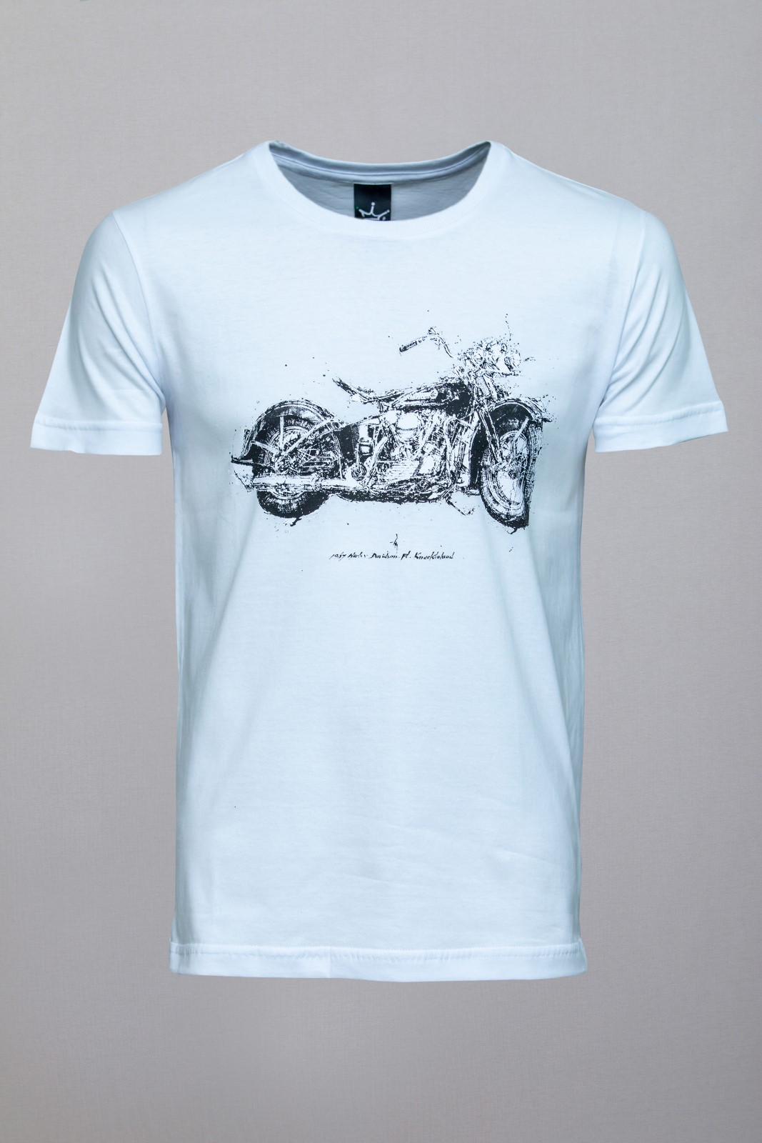 Camiseta CoolWave Motorcycle Soul Branca