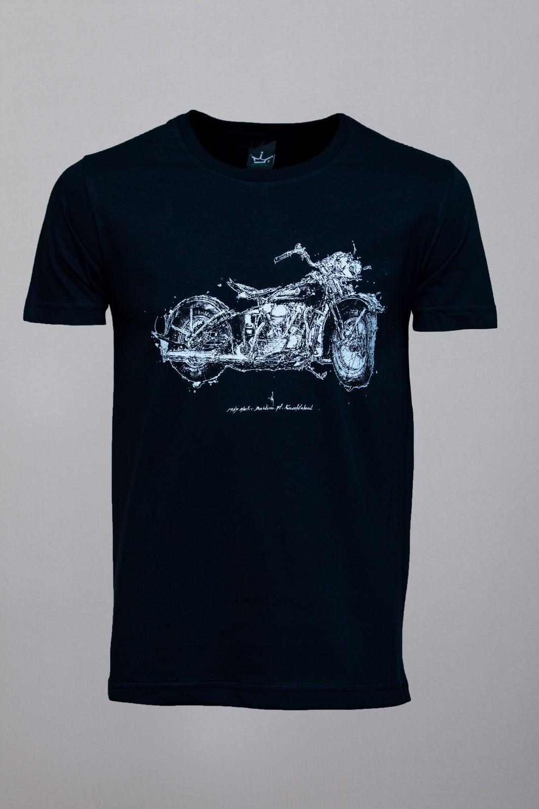 Camiseta CoolWave Motorcycle Soul Preta