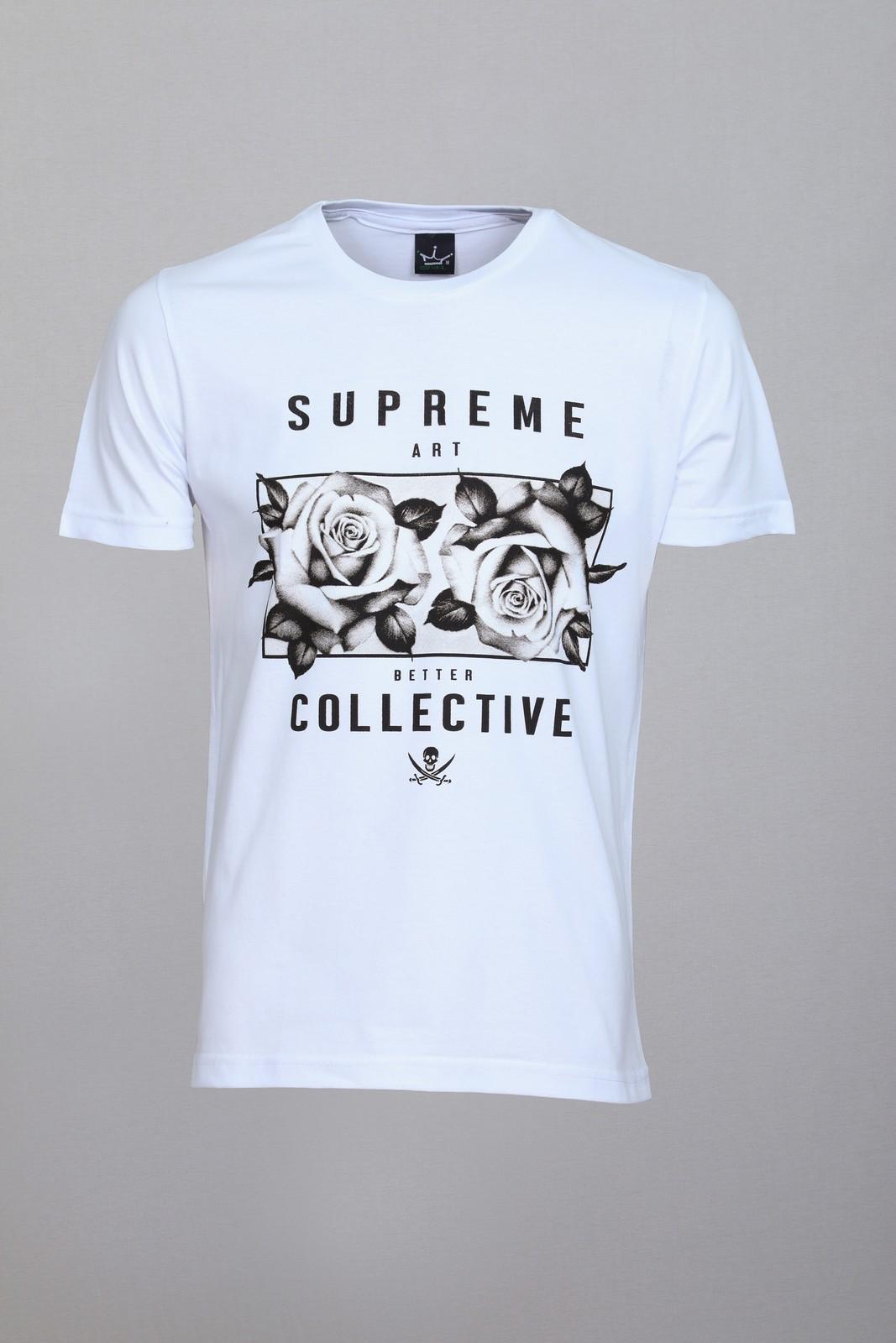 Camiseta CoolWave Supreme Collective Branca