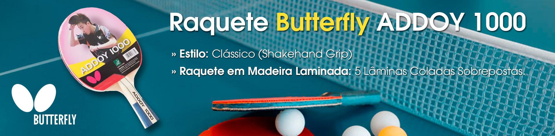 raquetes de tenis de mesa butterfly