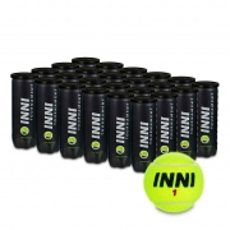 Bola de Tenis INNI Tournament Caixa com 24 Tubos