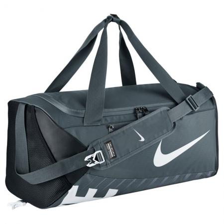 Bolsa Nike Team CROSS BODY Cinza