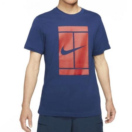Camiseta Nike Court AZUL e Vermelho