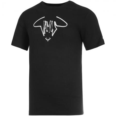 Camiseta Nike Court DRI FIT Rafa Preta