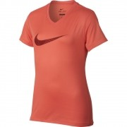 Camiseta Nike DRY Tee Infantil Feminina Goiaba