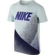 Camiseta Nike DRY Tee SS Carbon Infantil AZUL