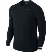 Camiseta Nike Manga Longa DRI FIT Contour Preta