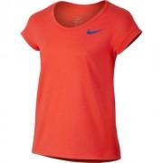 Camiseta Nike TOP SS Infantil Feminina Vermelha